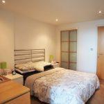 72 Lancefield Quay West End Glasgow G3 8JJ Lounge Bedroom