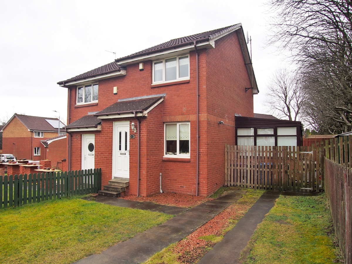 47 Foresthall Crescent Glasgow G21 4EE Exterior