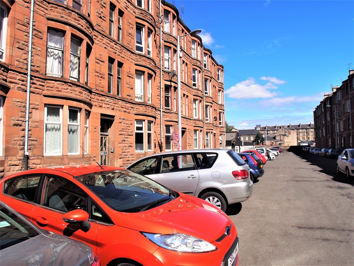 59 Torrisdale Street South Side Glasgow G42 8PW Exterior