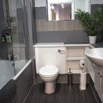34 Minerva Way West End Glasgow Lanarkshire G3 8GD Main Bathroom Waterfall shower