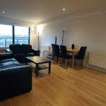 335 Glasgow Harbour Terrace 7-1 Glasgow G11 6BN Lounge v9